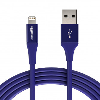 AmazonBasics USB A Cable with Lightning Connector, Prem