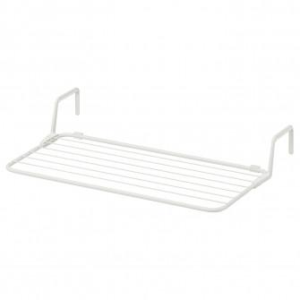 IKEA ANTONIUS Uscator rufe, alb, 77x40-49 cm