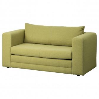 IKEA ASKEBY Canapea extensibila 2 locuri, verde