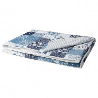 IKEA AXVERONIKA Cuvertura, patchwork, albastru, 180x220