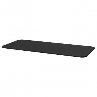 IKEA BEKANT Blat - furnir frasin vopsit negru