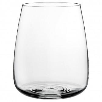 IKEA BERAKNA Vaza, sticla transparenta, 18 cm