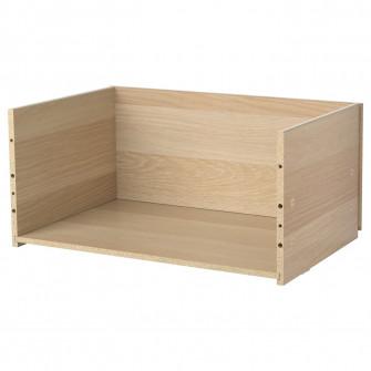 IKEA BESTA Cadru sertar, aspect stejar antichizat, 60x2