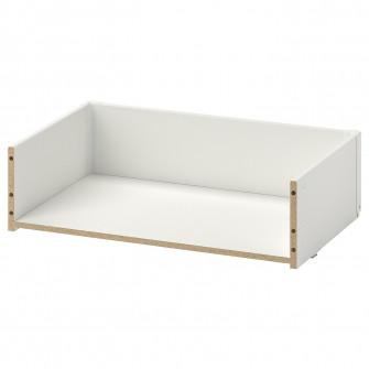 IKEA BESTA Cadru sertar, alb, 60x15x40 cm