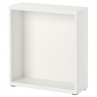 IKEA BESTA Cadru, alb, 60x20x64 cm