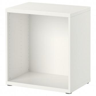 IKEA BESTA Cadru, alb, 60x40x64 cm