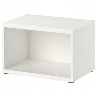 IKEA BESTA Cadru, alb, 60x40x38 cm