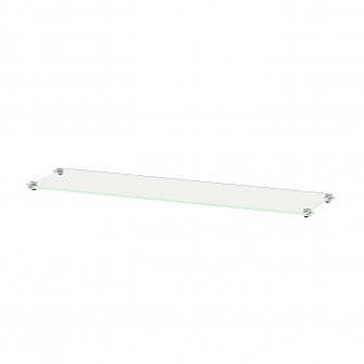 IKEA BESTA Polita sticla, sticla, 56x16 cm