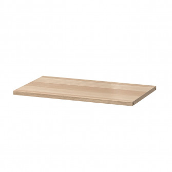 IKEA BESTA Polita, aspect stejar antichizat, 56x36 cm