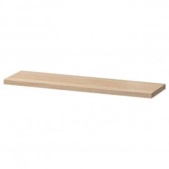 IKEA BESTA Polita, aspect stejar antichizat, 56x16 cm