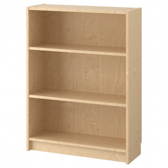 IKEA BILLY Biblioteca, furnir mesteacan, 80x28x106 cm