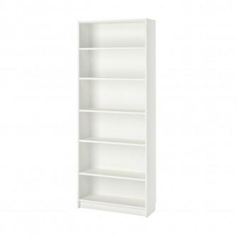 IKEA BILLY Biblioteca, alb, 80x28x202 cm