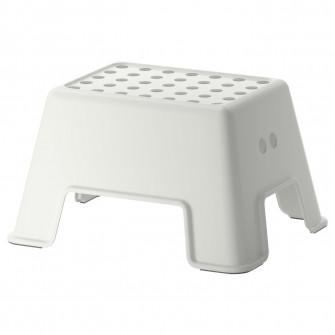 IKEA BOLMEN Taburet, alb