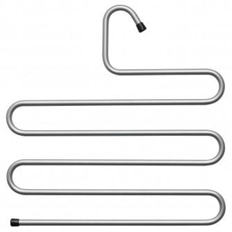 IKEA BRALLIS Umeras haine, argintiu