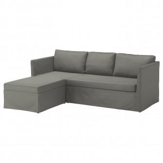 IKEA BRATHULT Coltar extensibil, Borred gri-verde