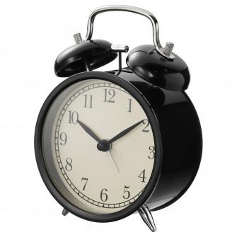 IKEA DEKAD Ceas alarma, negru