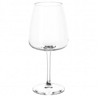 IKEA DYRGRIP Pahar vin rosu, sticla transparenta, 58 cl