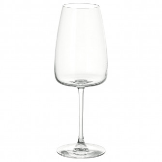 IKEA DYRGRIP Pahar vin alb, sticla transparenta, 42 cl