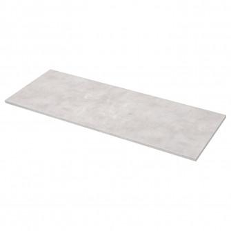IKEA EKBACKEN Blat, gri abtn, laminat, 186x2.8 cm