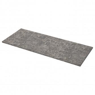IKEA EKBACKEN Blat - gri inchis amrm, aspect marmura la