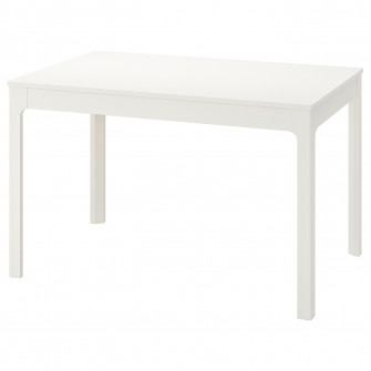 IKEA EKEDALEN Masa extensibila, alb, 120/180x80 cm