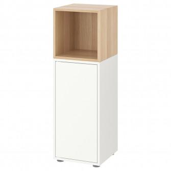 IKEA EKET Combina?ie dulap cu picioare - alb, aspect st