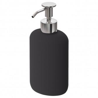 IKEA EKOLN Dozator sapun, gri inchis