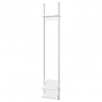 IKEA ELVARLI 1 sectiune, alb, 52x36x222-350 cm