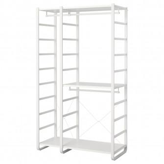 IKEA ELVARLI 2 sectiuni, alb