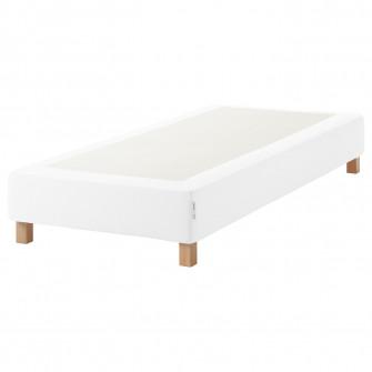 IKEA ESPEVAR Baza saltea arcuri cu picioare, alb, 90x20