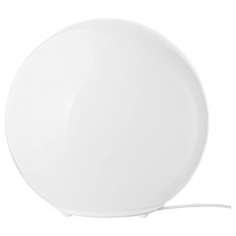 IKEA FADO Veioza, alb, 25 cm