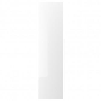IKEA FARDAL Usa cu balamale, lucios alb, 50x195 cm