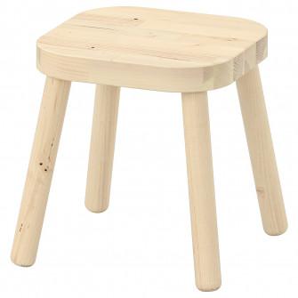 IKEA FLISAT Taburet pentru copii, 24x24x28 cm