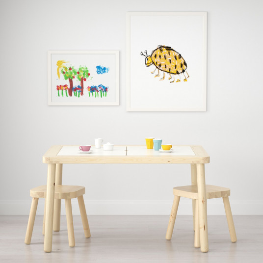 IKEA FLISAT Masa pentru copii, 83x58 cm