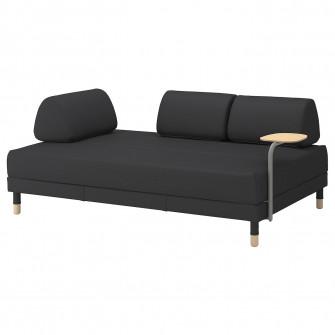IKEA FLOTTEBO Canapea extensibila + masuta cafea, Vissl