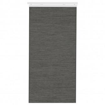 IKEA FONSTERVIVA Draperie panou, gri inchis, 60x300 cm