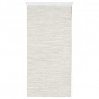 IKEA FONSTERVIVA Draperie panou, alb/bej, 60x300 cm