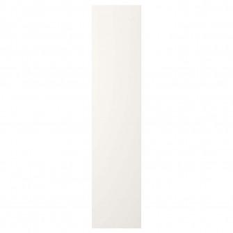 IKEA FONNES Usa cu balamale, alb, 40x180 cm