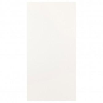 IKEA FONNES Usa cu balamale, alb, 60x120 cm
