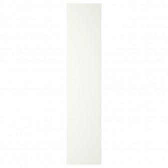 IKEA FORSAND Usa cu balamale, alb, 50x229 cm