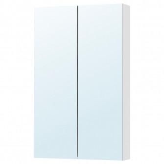 IKEA GODMORGON Dulap oglinda cu 2 usi, 60x14x96 cm