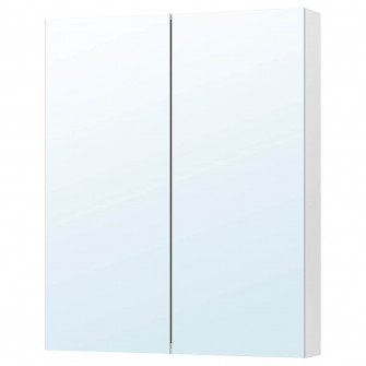 IKEA GODMORGON Dulap oglinda cu 2 usi, 80x14x96 cm