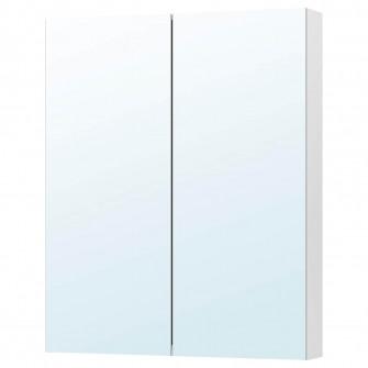 IKEA GODMORGON Dulap oglinda cu 2 usi, 100x14x96 cm