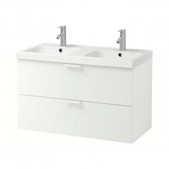 IKEA GODMORGON / ODENSVIK Masca lavoar cu 2 sertare - a