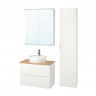 IKEA GODMORGON/TOLKEN / TORNVIKEN Mobilier pentru baie,