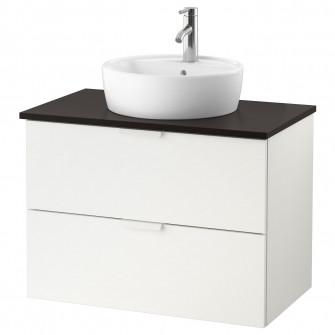 IKEA GODMORGON/TOLKEN / TORNVIKEN Corp lavoar+blat+lavo