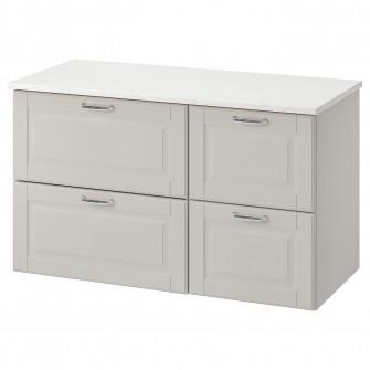 IKEA GODMORGON / TOLKEN masca lavoar cu 4 sertare