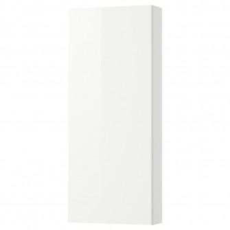 IKEA GODMORGON Corp suspendat cu 1usa, lucios alb, 40x1