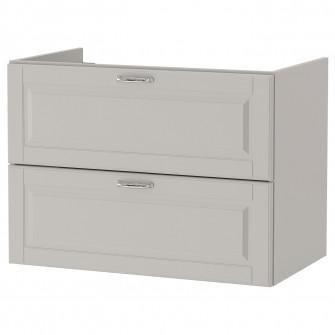 IKEA GODMORGON Masca lavoar cu 2 sertare - Kasjon gri