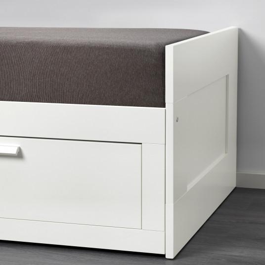 IKEA GRONG Husa divan, gri inchis